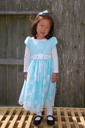 April 24, 2011 - Emily Easter Dress