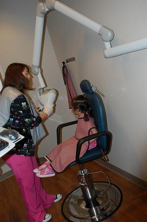 February 23, 2011 - Emily's 1st Dentist Visit