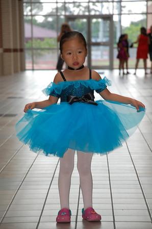 June 10, 2011 - Ballet Recital Dress Rehearsal