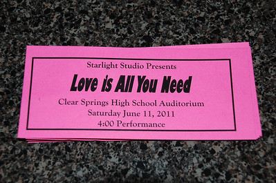 June 11, 2011 - Emily Ballet Recital - Love Is All You Need