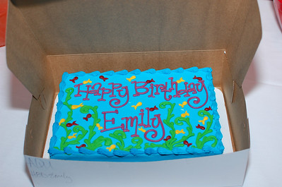 June 5, 2011 - Emily 4YO Birthday Party at Moody Gardens