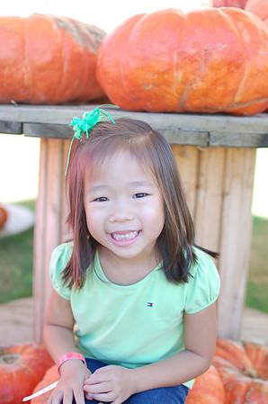 October 15, 2011 - Dewberry Farm Pumpkin Patch