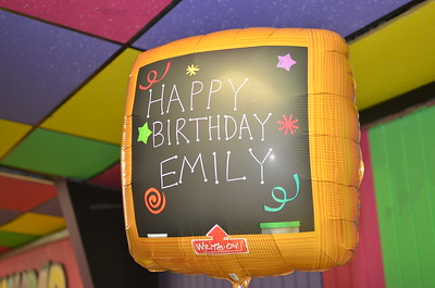 May 28, 2016 - Emily 9YO Bday Party