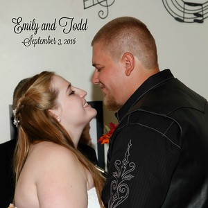 Emily and Todd Sept. 3, 2016