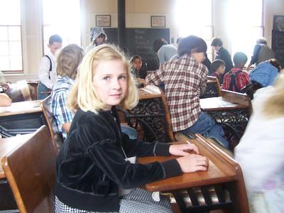 2009-03-20 One Room School Visit (Tassajara School, Danville)
