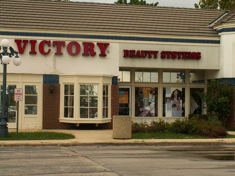 Victory Beauty Systems salon at International Plaza, 318 E. Golf Road, Arlington Heights, Illinois.   (09/25/2005)