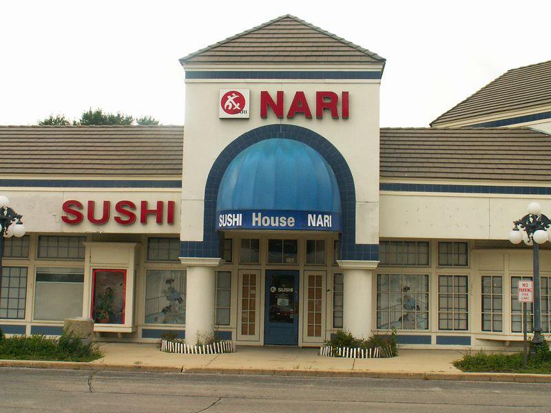 Nari Sushi House at International Plaza, 318 E. Golf Road, Arlington Heights, Illinois.   (09/25/2005)