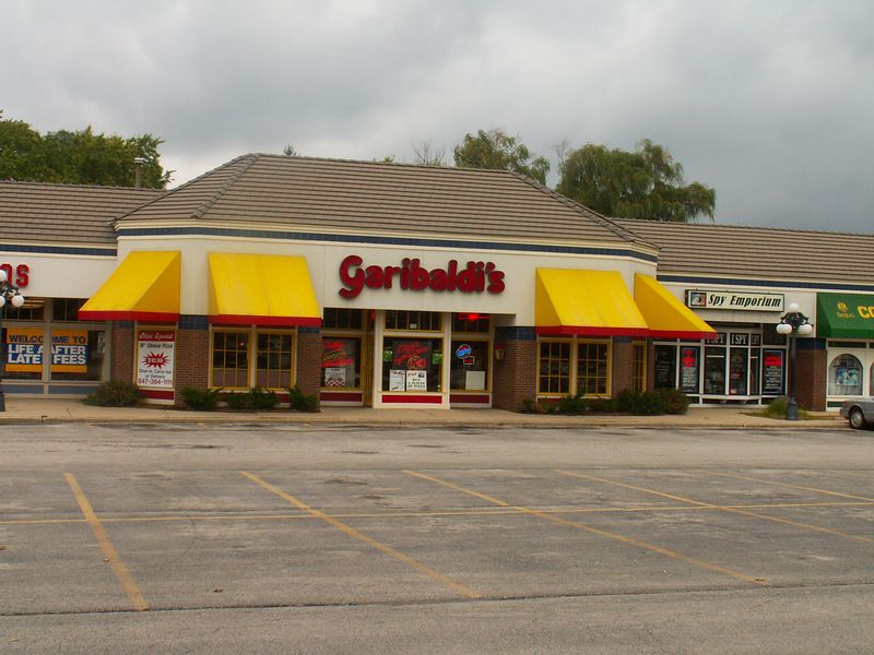 Garibaldi's Restaurant at International Plaza, 318 E. Golf Road, Arlington Heights, Illinois.   (09/25/2005)