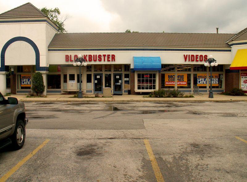 Blockbuster Video at International Plaza, 318 E. Golf Road, Arlington Heights, Illinois.   (09/25/2005)