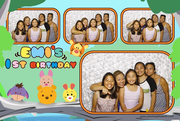 Emi's 1st Birthday (Fusion Photo Booth)