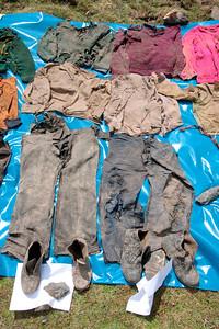 Dos juegos de prendas / Two sets of  clothes foto: Domingo Giribaldi del Mar