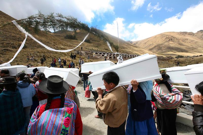 La Matanza en Putis ocurrió en 1984, pero no se conoció sino hasta el 2001. / The Putis Massacre happened in 1984, but it was not known until 2001. foto: Marina García Burgos
