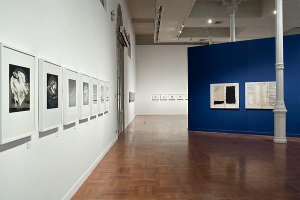"""Installation View of """"Indicios: Milagros de la Torre"""" at the Museo de Arte de Lima (MALI)"""