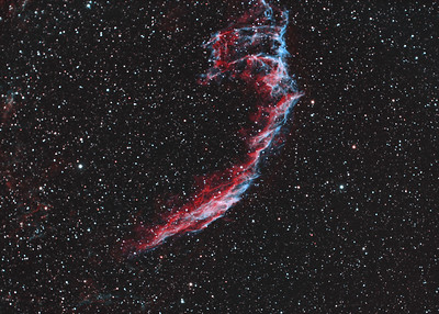 NGC 6992 - Eastern Veil Nebula (HOO)