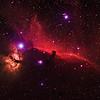 Horsehead and Flame Nebula in HaRGB