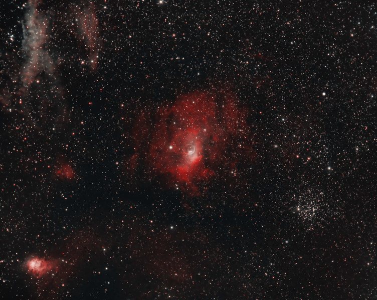 NGC 7635 - Bubble Nebula & Vicinity