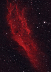 California Nebula in HaRGB - Reprocessed Using PixInsight