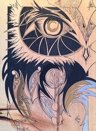 Emma Conklin Original Art: Wood