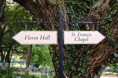 Florin Hall & St Francis Chapel Signs