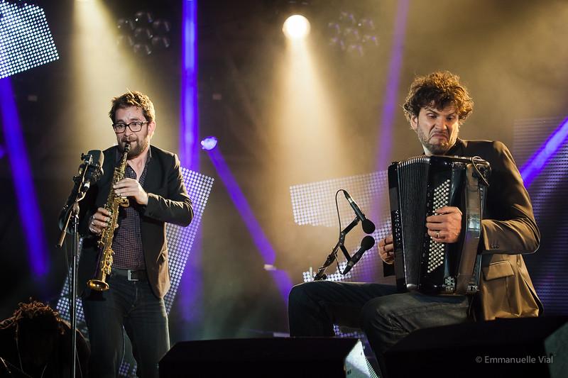 Emile Parisien & Vincent Peirani © Emmanuelle Vial 2014