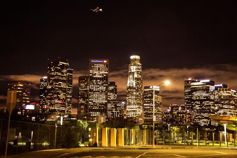 Flight Over Los Angeles
