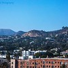 Barnsdall Art Park : Between the Observatory and the Hollywood Sign#1 As seen from Barnsdall Art Park