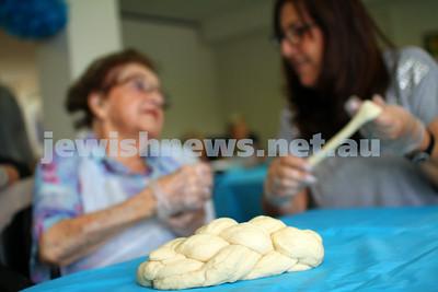 Emmy Monash Aged Care challah bake