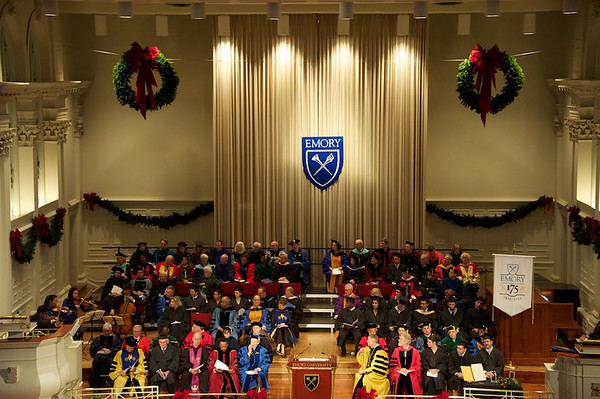 Emory's 175th Anniversary Makers of History and Convocation - 12.7.11
