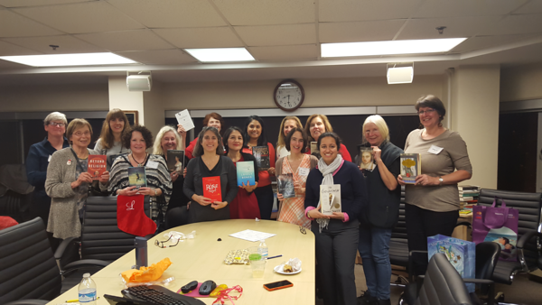 AWE Book Club Holiday Party 12.10.2015