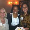 Tara Whitehead-Stotland 93MBA, Margo McClinton 98C, and Lisa Waters