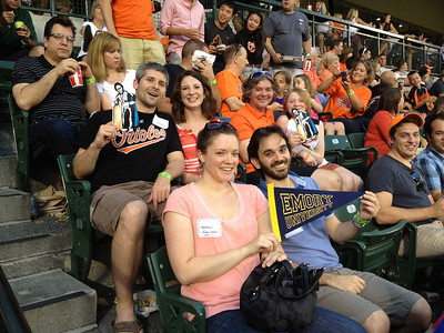 Baltimore Alum at the Orioles Game 07.11.13