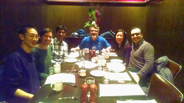 Boston Dine with Nine 2.13.2016