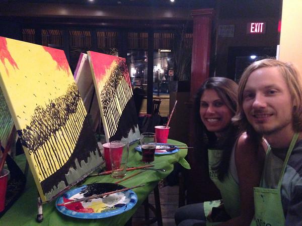 Boston Paint Night 3.11.2014