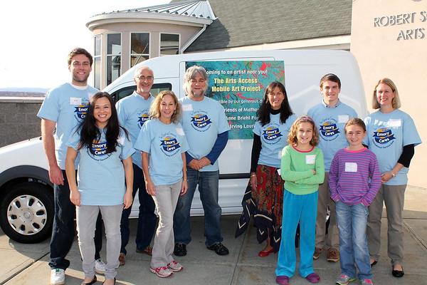 NJ Emory Cares Day 11.2.2013