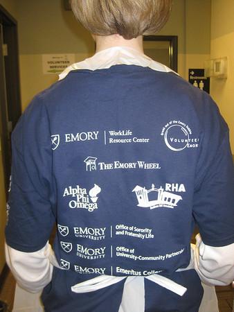 Atlanta Emory Cares - Emory Alumni Association Staff - 11.11.10
