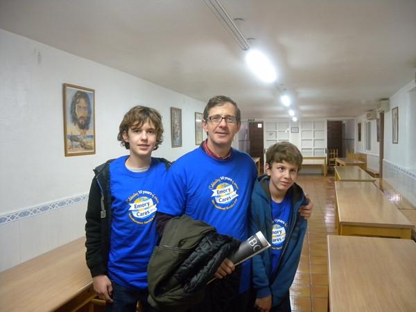 Madrid Emory Cares 11.17.12