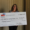 HEB ISD Counseling and Guidance with check from Education Foundation.