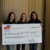 Euless Junior High with check from Education Foundation.