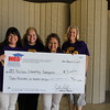 Bellaire Elementary with their check from Education Foundation.