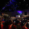 Students wrap up Convocation with a pep rally.