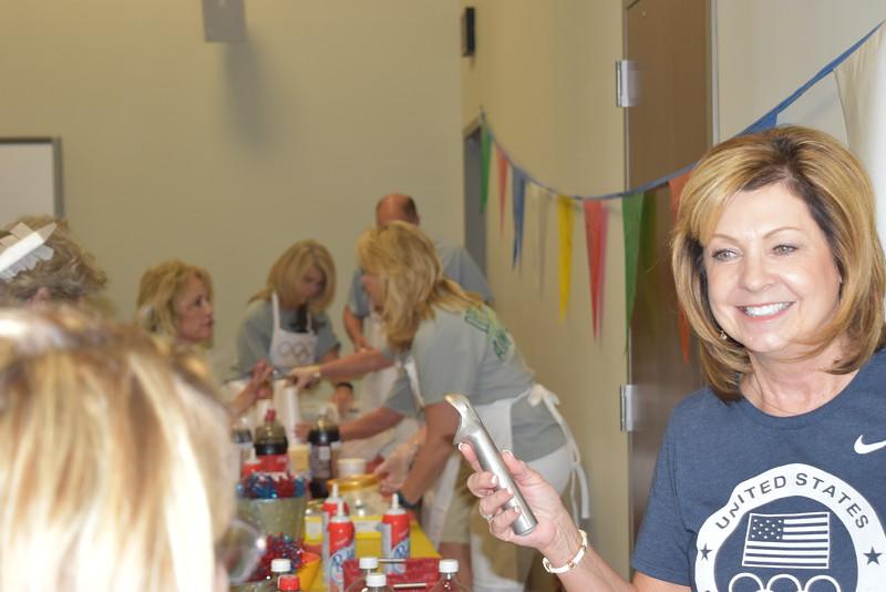 Administrators receive ice cream.