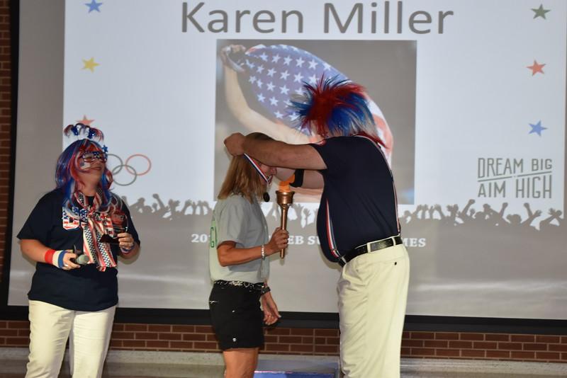 Administrator receives award.