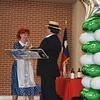 District administrators present awards.