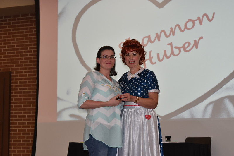 District administrator receives award.