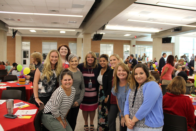 New staff members from Stonegate Elementary.