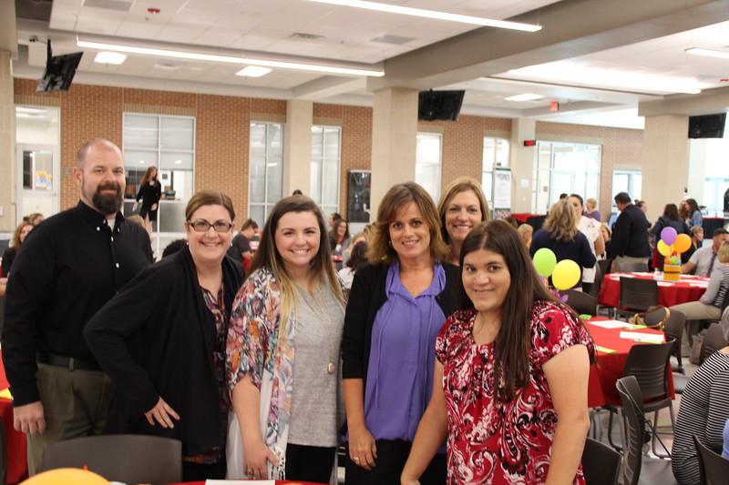 New staff members from Shady Oaks Elementary.