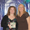 Lakewood Elementary Teacher of the Year Brook Cruse with principal Julie McAvoy