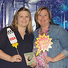 Hurst Hills Elementary Teacher of the Year Julie Miller with principal Beth Sanders