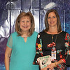 Bell Manor Elementary Teacher of the Year Suzanne Richmond with principal Patti Bearden