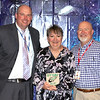 Central Junior High Teacher of the Year Vicki Stallings with school principals